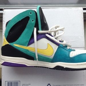 New Nike 6.0 Air Zoom Oncore High Skate Shoe